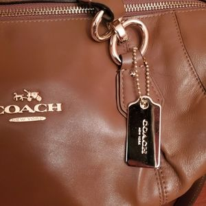 Coach hand bag with long strap